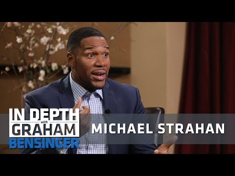 , title : 'Michael Strahan: Fighting teammates for respect'