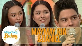 Magandang Buhay: Maymay, Ria and Daniel share their future plans 10 years from now