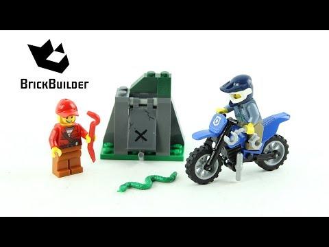 Vidéo LEGO City 60170 : La poursuite en moto tout-terrain