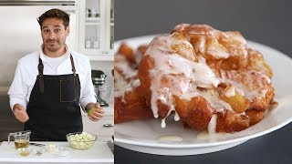 Hot and Crisp Apple Fritters- Kitchen Conundrum with Thomas Joseph