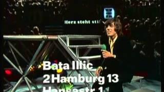 Bata Illic - Ein Herz steht nie still (ZDF Hitparade 16.10.1971)