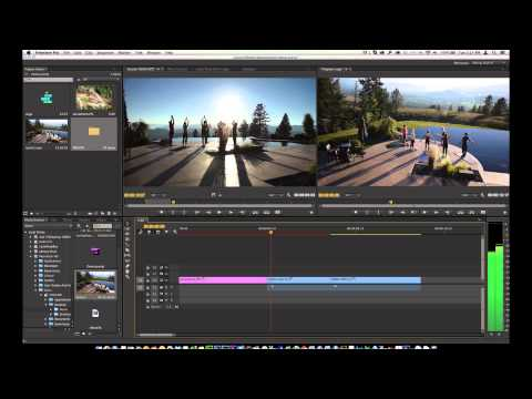 Learn Adobe Premiere Pro CC In Ten Minutes (Over The Shoulder Method)