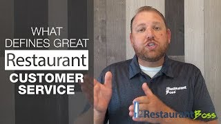What is great service in a restaurant