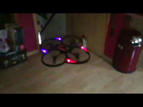 MikanixX Spirit X009 Drone Quadrocopter Drohne Quadcopter First Flight Indoor erster Flug drinnen