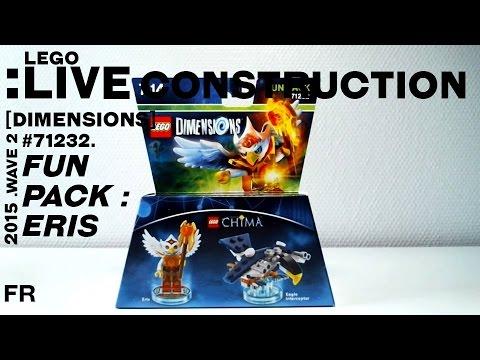 Vidéo LEGO Dimensions 71232 : Pack Héros : Eris