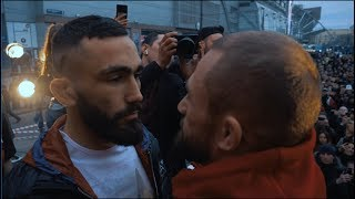 Али Багаутинов vs. Вартан Асатрян. Взвешивание FIGHT NIGHTS GLOBAL 92