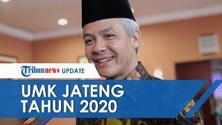 Ganjar Pranowo Umumkan Kenaikan UMK Jawa Tengah Tahun 2020, Ini Daftar Lengkapnya