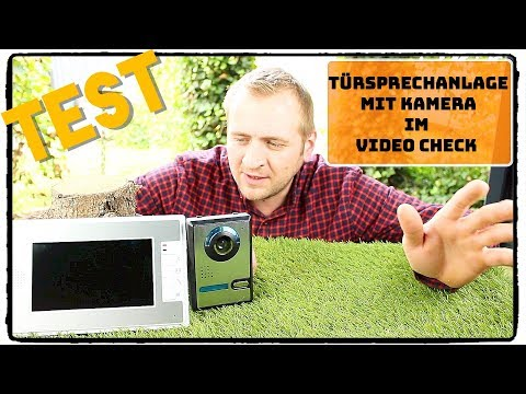 "🔴 TÜRSPRECHANLAGE MIT KAMERA ""Cadrim "" im Test ( Deutsch / Review )"