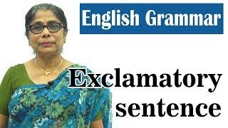 Learn English Grammar   Exclamatory sentence   Basic English Grammar for kids