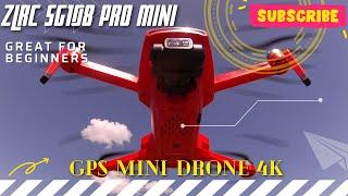 ZLRC SG108 PRO 5G Wifi FPV GPS 4K Camera RC Drone 2-axis Gimbal Brushless Motor( TEST FLIGHT)