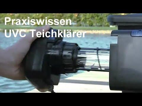 UVC Teichklärer - Ratgeber UVC-Vorschaltgeräte - UVC Vorklärgeräte beseitigen Schwebealgen