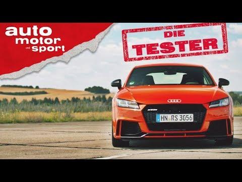 Audi TT RS:  Der rote Quattro-Teufel! - Die Tester | auto motor und sport