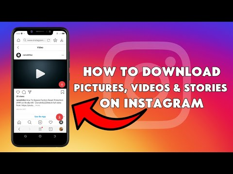 How To Download Pictures, Videos & Stories On Instagram - [romshillzz]
