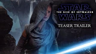 Star Wars Episode IX - The Rise Of Skywalker - HYPE TRAILER - Daisy Ridley, Adam Driver Film