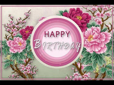 🎂Happy Birthday!🎂Animation Greeting Cards #4K #WhatsApp