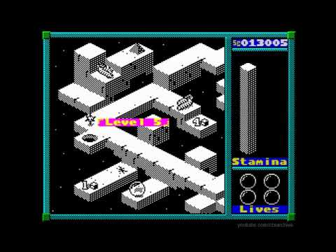 Qbox Walkthrough, ZX Spectrum
