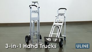 Uline 3-in-1 Hand Trucks