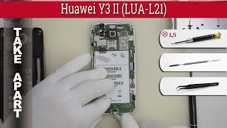Huawei y3 2017 TOUCH SCREEN PROBLEM AND DISASSEMBLY GUIDE - hmong video