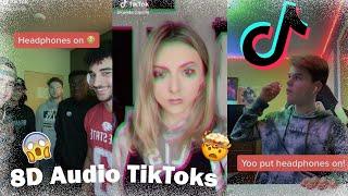 TikTok's to listen to with headphones!! | 8D AUDIO
