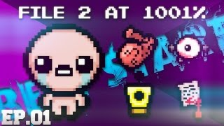 "TBoI:Afterbirth File 2 "" THE BEST START "" [Ep.01]"