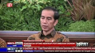 Jokowi Optimistis Sikapi Pertumbuhan Ekonomi RI