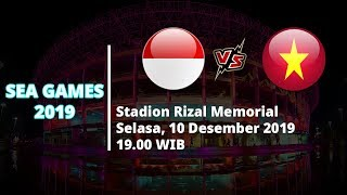 VIDEO: Live Streaming Final SEA Games 2019 Timnas U-22 Indonesia Vs Vietnam Selasa (10/12)