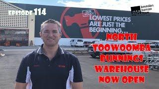 Ep114. Bunnings North Toowoomba Warehouse Now Open | by Brendan Homan Properties