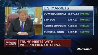 Trump: Meeting with Xi could take place in March