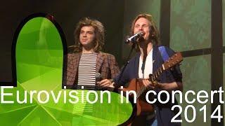 Eurovision in Concert 2014: Aarzemnieki - Cake to bake (latvia)