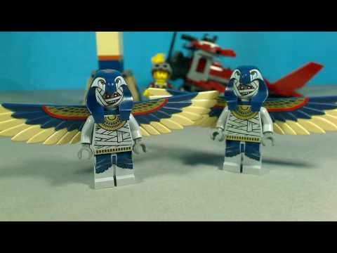 Vidéo LEGO Pharaoh's Quest 7307 : L'attaque de la momie volante