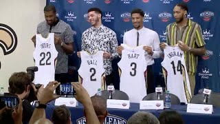 Pelicans introduce new team members