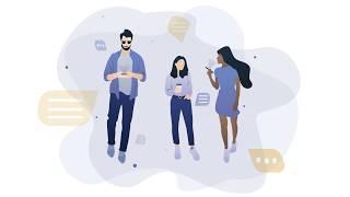 People Illustration Flat Design 🤓 SPEEDART