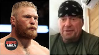 The Undertaker clears the air on infamous Brock Lesnar exchange at UFC 121   ESPN MMA