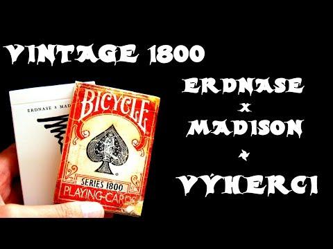 VINTAGE 1800 + Erdnase x Madison + Vyhlášení fotosoutěže