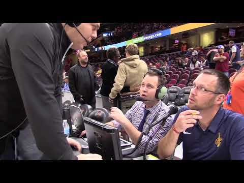 Meet Sean Peebles the new PA announcer at Cavs games