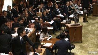 地震発生時国会内