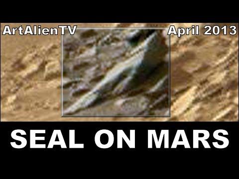 MARS Alien Seal & Bird: Curiosity Rover Creature Anomalies: ArtAlienTV – MARS ZOO 738p
