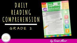 EVAN MOOR DAILY READING COMPREHENSION GRADE 2 || Homeschool Language Arts Grade 2