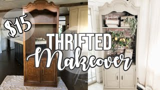 THRIFTED FURNITURE MAKEOVER 🔨