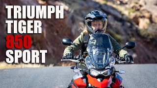 2021 Triumph Tiger 850 Sport Test Ride Review | Adventure, Touring and Sport - The Ultimate Hybrid?
