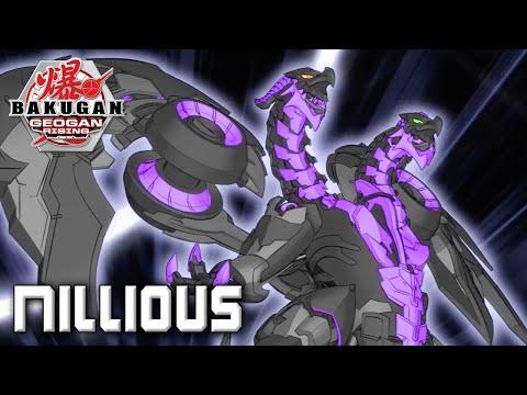 Бакуган Nillious (Нилиус Двухголовый) от SB / Darkus