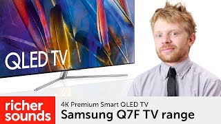 Samsung Q7F - QLED UHD Premium Smart TV | Richer Sounds