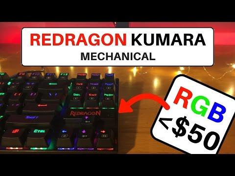 Redragon Kumara K552 Rgb Review Mechanical Keyboard On A Budget