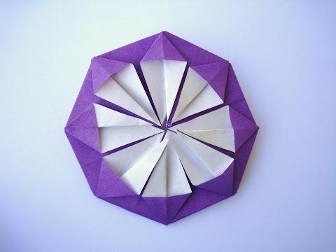 ハート 折り紙:折り紙 花 チューリップ-matome.naver.jp