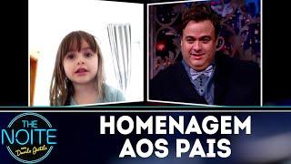 Homenagem para os pais do programa | The Noite (13/08/18)