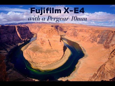 Video: Horseshoe Bend + Fujifilm X-E4 + Pergear 10mm