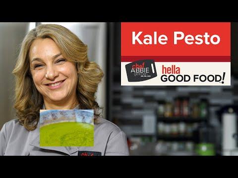 Nut Free Pesto with Kale