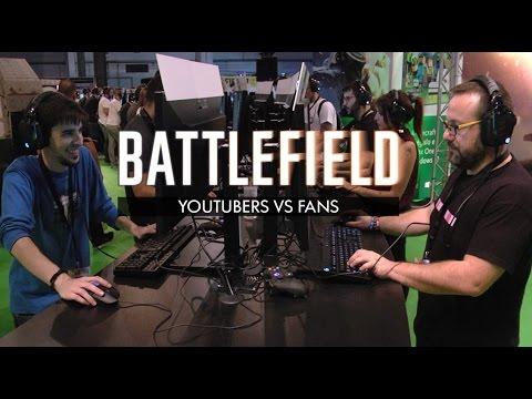 Espectacular batalla entre youtubers y seguidores en Battlefield 1