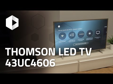 Review Thomson 4K LED TV 43UC6406. Análisis en español