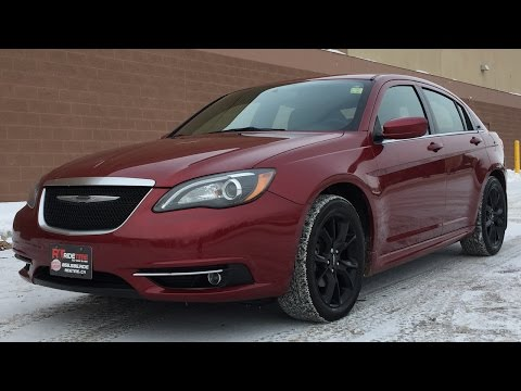 2013 Chrysler 200 S - Leather, Sunroof, Navigation, Black Alloy Wheels